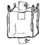 bigbag neuf 120 cm  goulotte remplissage + vidange